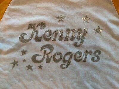 ORIGINAL VINTAGE 70S Kenny Rogers Country Music Metallic
