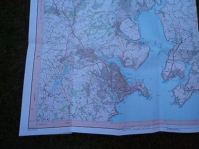 Ordnance Survey Map Falmouth, Mevagissey 1997 Inc Truro Pentewan, Heligan Penryn 2