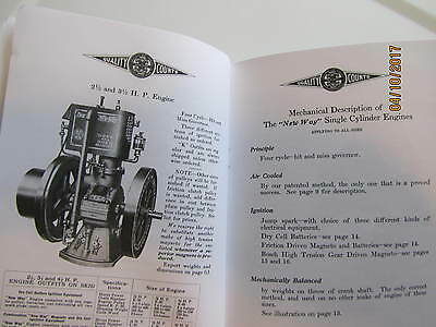 New Way Air Cooled Engines Catalog D-11 Aircooled Vertical Engine 2
