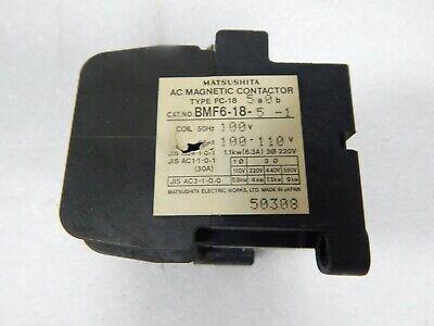 MATSUSHITA CONTACTOR UNIT FC-18NZ 4A0B BMF61809 AC 100V CNC FC-18N EACH 1