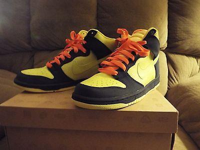 on sale 17b38 c6bf1 1 of 6 Rare MenS Nike Dunk High 317982-772 Homer Simpson Size 10.5 Nice! 2