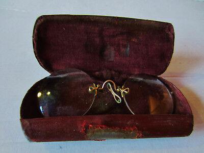 Antikes Monockel, Zwickel mit Etui, sehr seltenes Sammlerstück ca. 1900 2