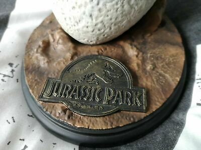Extremely Rare! Jurassic Park Lifesize Velociraptor Egg LE of 500 Statue Prop 3