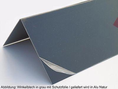 Alu Winkel 90° Alu L-Winkel 150 mm in Alu Natur Blank Alu Winkelblech Kantblech