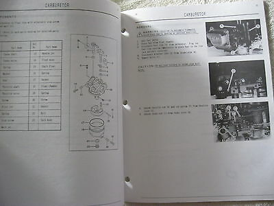 Kawasaki Fc180V Ohv Gas Engine Workshop Service Repair Manual 2