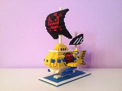 Baukästen One Piece Law Pirates Submarine Schiff Diamond Mini Bausteine Blocks