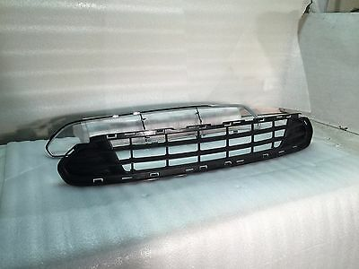 10 11 12 Ford Fusion Bumper Grille And Chrome Trim *Set* W/O Sport New Fo1036127 2