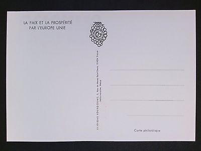 Maximumkarten Europa France Mk 1965 Europa Cept Strasburg Maximumkarte Carte Maximum Card Mc Cm D5285