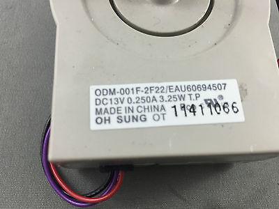 Genuine LG Fridge Evaporator Fan Motor GML277USQH GML277USRH LSC27921ST