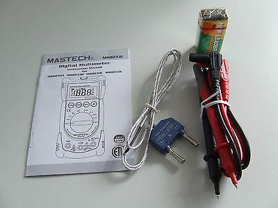 MS8233C MASTECH Digital Profi Hand-Multimeter A/V/Ohm/Temperatur NCV