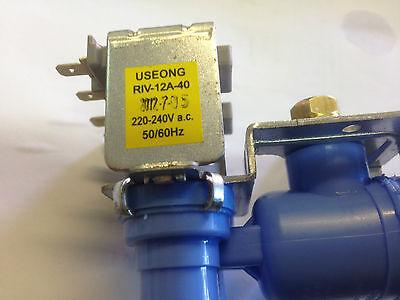 Omega Pewter Fridge Water Inlet Valve FBS600P FBS645P FBW600P FBW616P
