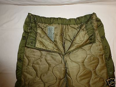 TROUSER LINERS Cold Weather Field L NIB Lot of US Military M65 M-65 PANT 15