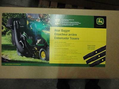 JOHN DEERE BM21889 BG20777 Twin Bagger Kit 100 Series Lawn Tractors W 48 Decks