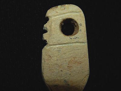 Pre-Columbian Effigy Pendant, Central America, Authentic, Ancient Pendant 2