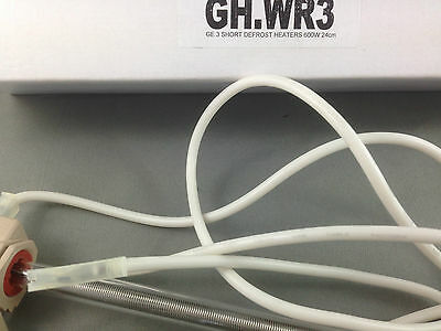 GE REFRIGERATOR DEFROST HEATER PART  TRIPLE GLASS HEATERS 600 WATT WR51X10021