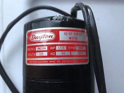 Dayton Appliance 2M033A moteur 1//15HP 115 V 5000 tr//min CCW-Sans Boîte