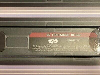 "36"" Lightsaber Blade Star Wars: Galaxy's Edge Legacy Hilt Disney & Mystery Pin 2"