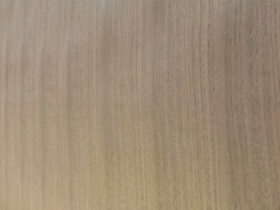 "Walnut Quartered Q//C wood veneer 12/"" x 48/"" on paper backer 1/' x 4/' x 1//40/"" thick"
