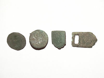 Set of Viking belt furniture . c 800-1000 AD 2