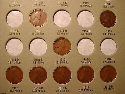 New Album 1909-1940 Lincoln Wheat Cent STARTER COLLECTION*with 1909 /& 1909-VDB