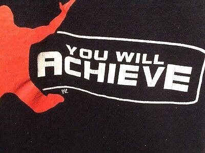 cheap for discount 0b5a6 98fdf ... HBK Heartbreak Kid Shawn Michaels 2005 WWE T Shirt Positive Believe  Achieve XL 10