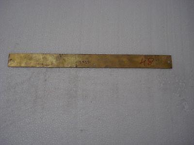 CERT. BAGGAGE ROOM – Marine BRASS Door Sign -  Boat/Nautical -12 x 1 Inches (48)