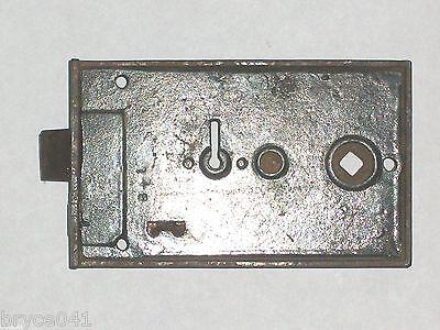 Antique Eastlake Era Rim Lock by  B&L Very Nice Very Ornate 3