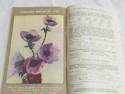 Catalogue Georges Truffaut Automne 1927 + 4 feuillets  bulbes rosiers engrais 10