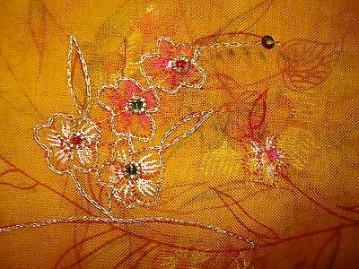 Ladies Indian Crepe Silk Saree 9