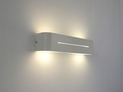 APPLIQUE MODERNO BIANCO lampada da parete illuminazione camera da letto  cucina