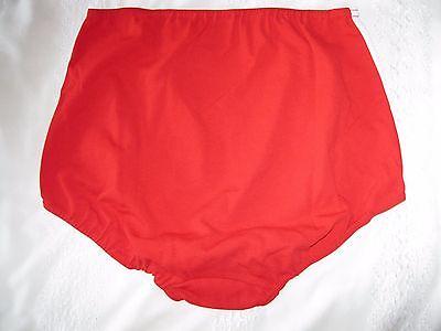 """Ladies GYMPHLEX Athletics SCARLET RED School Gym Shorts W28 Sz """"L"""" UK 12-16 BNIB 2"""