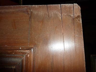 """c1902 antique MAHOGANY door BEAUX ARTS mansion 81.5 x 24 x 1.75"""" original FINISH 2"""