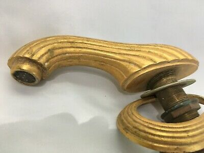 PHYLRICH Antiqued Gold on Solid Brass Faucet & Cover 2 lb 11oz   No Drain Rod 5