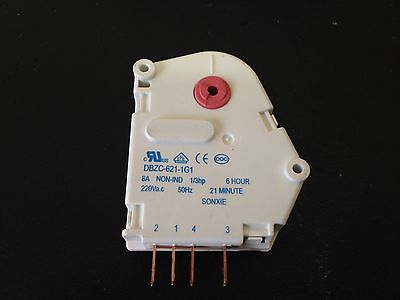 3x Kelvinator Refrigerator Defrost Timer 6 Hour 21 Min p/n1431871 759802 0502 3