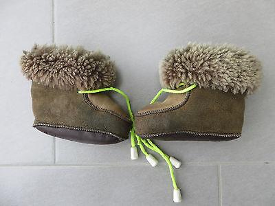 size 40 af03a 15903 BABY FELL BOOTS Stiefel Winterschuhe Fellschuhe Gr. 20 – 21 bis 12 Mo