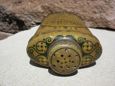 Antike Blechdose Apotkeker Weitz Wundpuder Deutsches Reich Patent 3