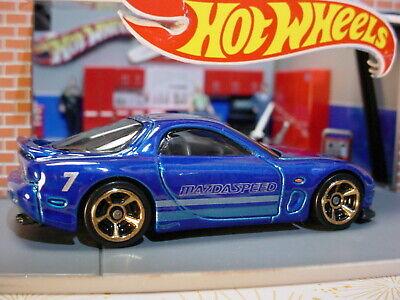 MAZDA RX-7 '95 HOT WHEELS HW TURBO blau GHF76