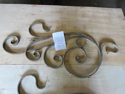 Antique Victorian Iron Gate Window Garden Fence Architectural Salvage #910 3
