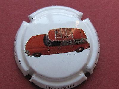 Série de 6  capsules de champagne TIECHE MORIZET DS Citroën N°10