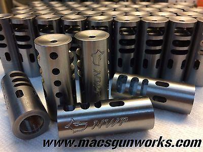 7MM MAGNUM REMINGTON High Performance Muzzle Brake 5/8x24 TPI   CUSTOMIZE  IT!