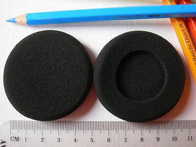 Ohrpolster passend an Logitech H360 USB Headset aus Schaumstoff Ø 55 mm