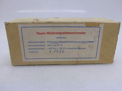 Raum-Widerstandsthermometer -30°C - 150°C in feuchten Räumen, Pt 100