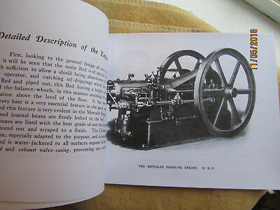 Metcalfe Manufacturing Quincy PA  Gas Engine  Catalog All sizes 2
