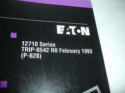 EATON FULLER 10 Speed Transmission 12710 Series PARTS LIST Catalog Shop OEM