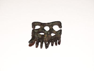 Traditional pagan female zoomorphic Viking pendants comb. ca 800-1000 AD 2