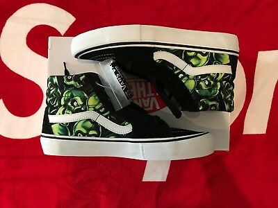 SUPREME X VANS Sk8 Hi Skull Pile Authentic NEW 9.5 $378.88