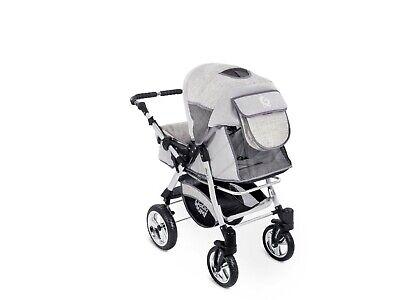 Passeggino TRIO Baby Carrozzina 3in1 Seggioliono OVETTO AUTO GagaDumi Urbano 7