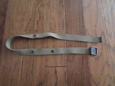 Wwii Marine Corps Usmc Demolition Belt Or M1 Carbine Clip Pouch Belt 5 Snap 10