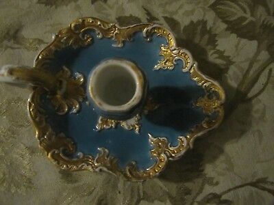 Extremly Rare Meissen Chamber Candlestick -Very Good condition 9