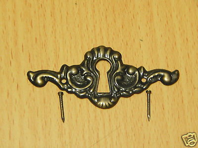 Keyhole Cover Antique Brass 2